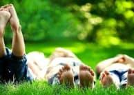 Jugar al aire libre es importante para nuestra salud