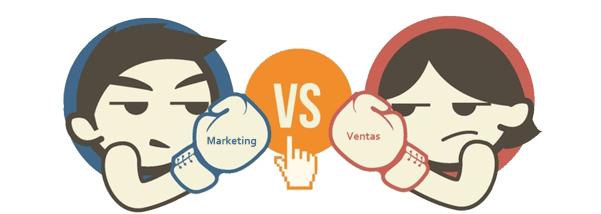 Deducción: Los de marketing son de Marte y los de ventas de Venus