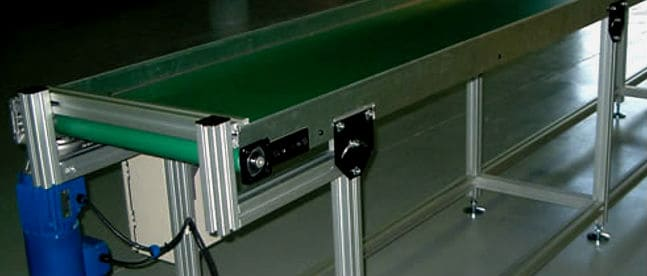 tipos de cintas transportadoras
