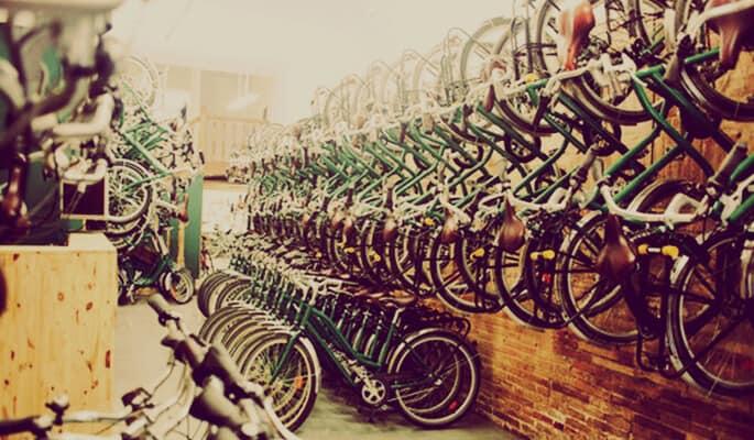tienda alquiler de bicis