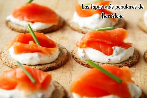 Las tapas más populares de Barcelona