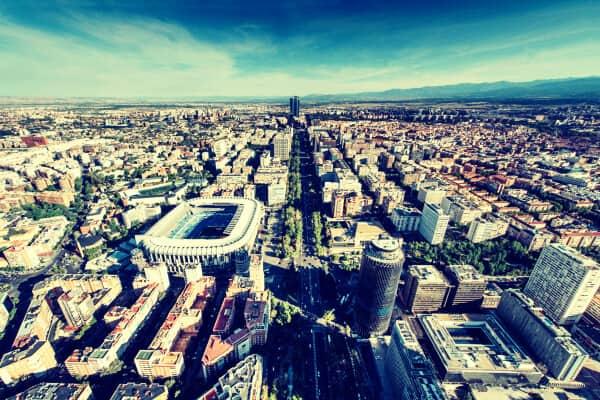 Madrid desde el aire