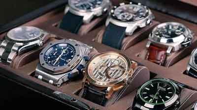 relojes de lujo en maletin especializado