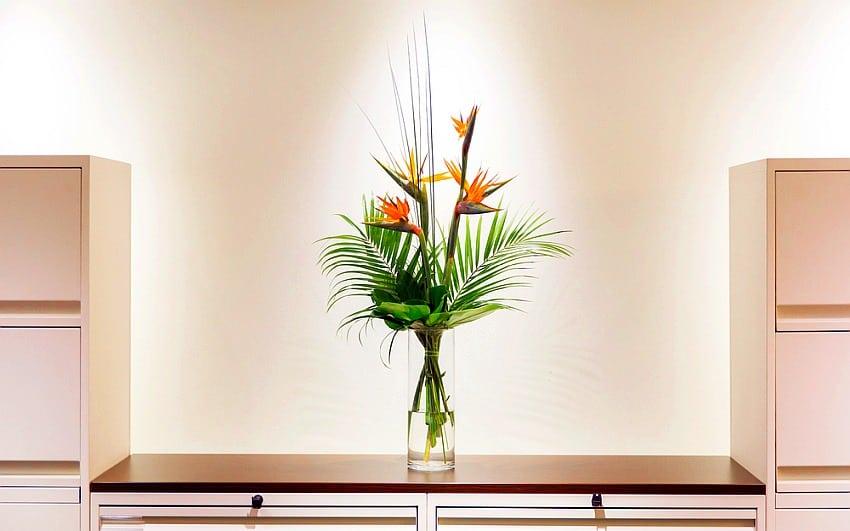 ramo de flores para decorar un hogar